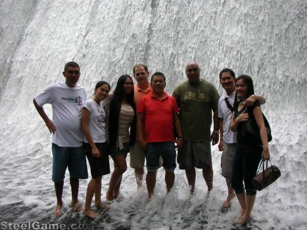 Me,brian,kiana, sonny lagon and his family