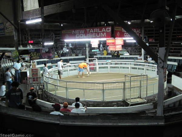 Inside the pit at Tarlac City, Phillipines