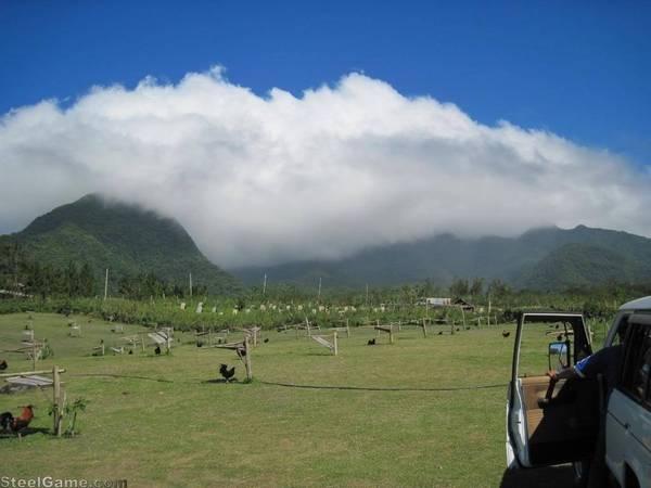 View from Jim Bernardo's farm in Bacolod City P.I.
