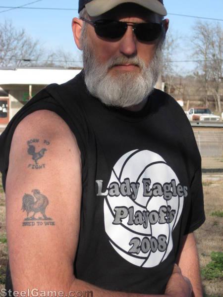 TripleCrown arm tattoos