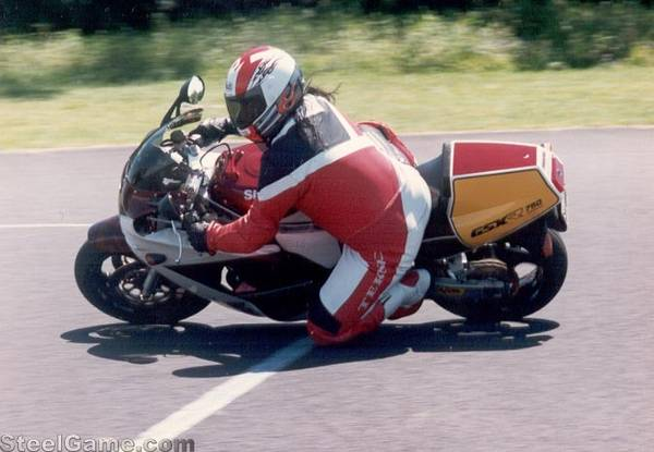 Me on my old GSXR